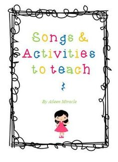 Songs and Activities to Teach Quarter Rest