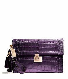 COACH LEGACY LOCK CLUTCH #belk #gifts #accessories