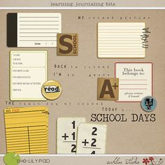 Learning: Journaling Bits - The Lilypad (sahlin studio - one of my favorite designers)