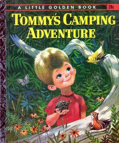Tommy's Camping Adventure, Illustrations by Mel Crawford, 1962-Cover