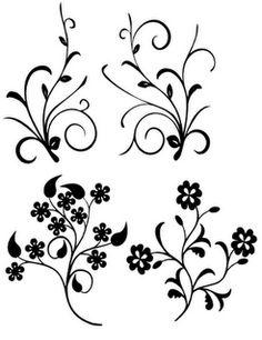 Flourish Branches - SVG Freebie