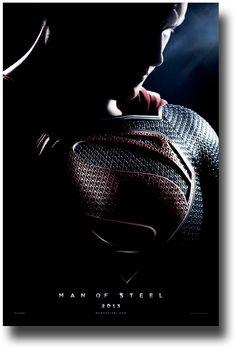 Man of Steel Poster - 2013 Movie Promo Flyer Dark http://concertposter.org/man-of-steel-poster-2013-movie-promo-flyer-dark/
