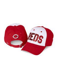 cincinnati reds hat! pink victoria secret