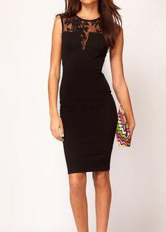 Sleeveless Skinny Dress