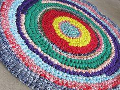 cute rag rug