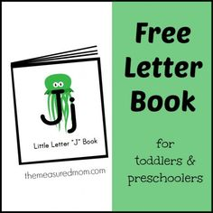 Free letter book filled with six rhymes for kids!  Great for reading readiness.