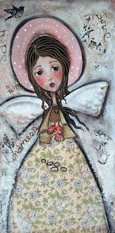 patti ballard artist | Art: Ill mend your broken wing by Artist Patti Ballard