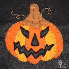 Jolly Jack O' Lantern Quilt Block | Free Quilt Tutorial | FaveQuilts.com