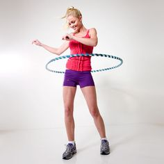 Like if you love hula hooping! This move burns 300 calories in 30 minutes. #fitness #workout #exercise