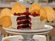 Receta: Clara Serventi   Laura´s Velvet cake   Utilisima.com
