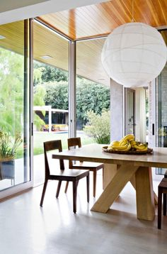 easy alternative to Nelson lamp    Brentwood Residence