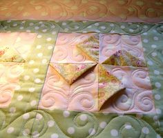 Pinwheel quilt by Carla's Feathered Fibers, via Flickr