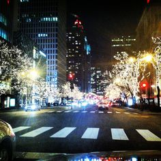 Michigan ave in Chicago