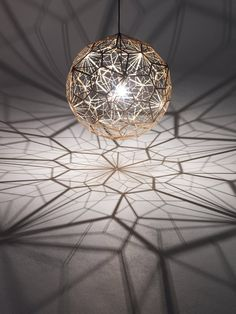 Etch Web lamp by Tom Dixon lighting