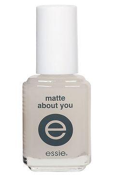 essie® 'Matte About You' Finisher - turn any nail polish matte.... I need this!