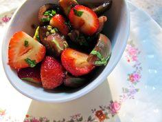 strawberry and cherry tomato salad