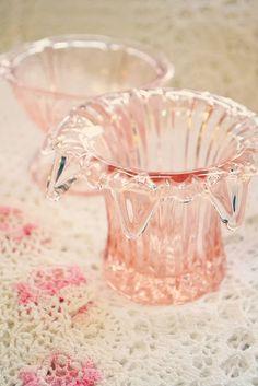 pink depression glass?