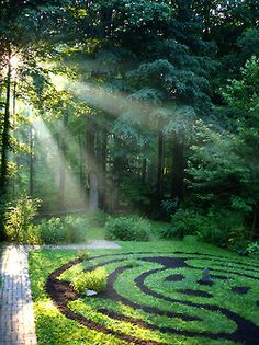 garden + labyrinth