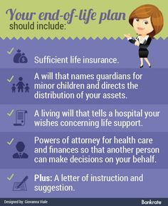 End-of-life planning tips