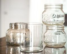 water, cleanses, cleaning, how to clean candle jars, glasses