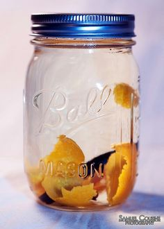 orange, clove and vanilla vodka infusion