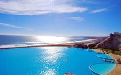 Luxury swimming pools san alfonso del mar, Chile
