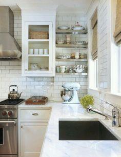 Subway tiles kitchen