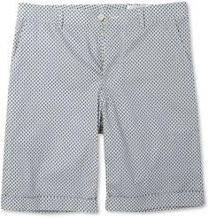 Alexander McQueenSkull-Print Cotton Shorts|MR PORTER