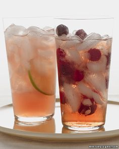 Cranberry juice. grapefruit juice. sparkling mineral water. juice of 1/2 lime