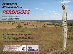 Excavación arqueológica Perdigões (Reguengos de Monsaraz, Évora, Portugal), del 15 de julio al 10 de agosto de 2013.