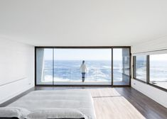 """Chilean seaside house designed to """"catch the views""""."""