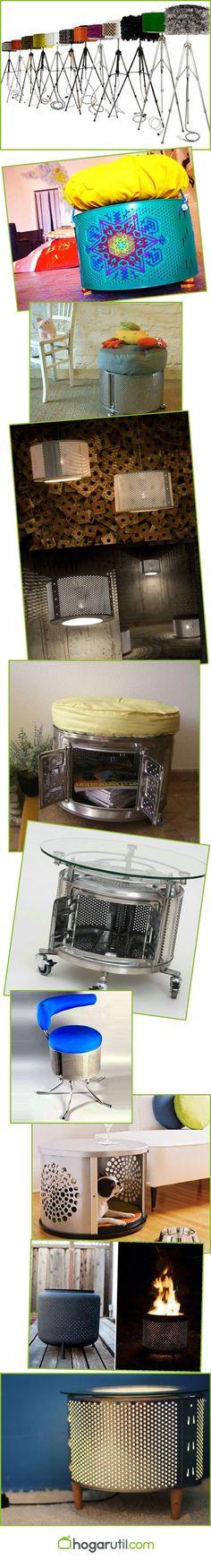Reciclar tambor de lavadora 10 ideas para reciclar tambores de lavadora tambor de, 10 idea, de lavadora, para reciclar