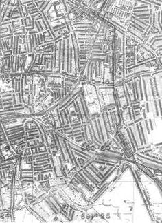 Old map of Peckham