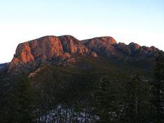 Hermit Peak near Las Vegas New Mexico
