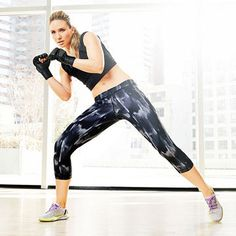 Duck-A-Punch to work your abs and legs.