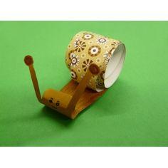 Bastelidee zum Schnecke basteln   tolle Anleitung mit Papier basteln