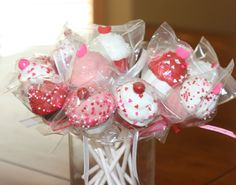 valentine cake pops - Google Search