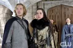 """Reign -- """"Long Live the King"""" -- Image Number: RE121a_0344.jpg -- Pictured (L-R): Toby Regbo as Prince Francis and Adelaide Kane as Mary, Queen of Scots -- Photo: Ben Mark Holzberg/The CW -- © 2014 The CW Network, LLC. All rights reserved."""
