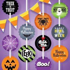 Adorable FREE Halloween Printable Gift Tags! Get them here--->