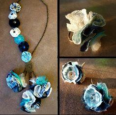 Fan de ses bijoux textiles