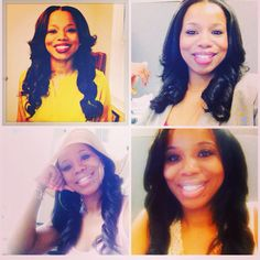 Our Natural Straight #indianremy rocked x4!! #yaaassss #teamwags #wagmanhair