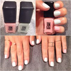 putting the PINK in pinkies #manimonday
