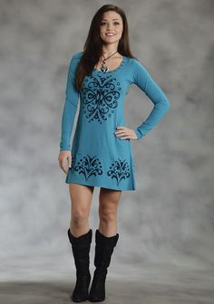 Hey Ya'll : Ladies A-Line Western Dress