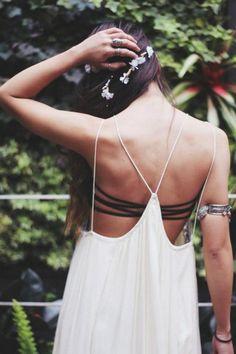 strappy back