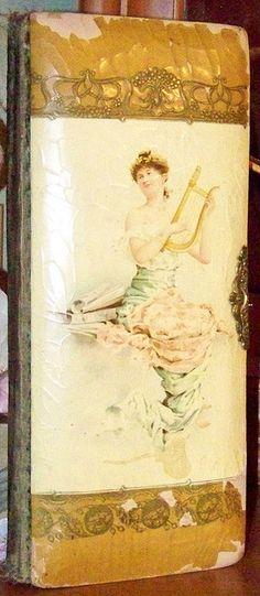A vintage photo album - love the brass clasp
