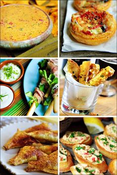 New Year's Eve appetizer recipes.