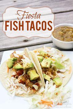 Fiesta Fish Tacos jillconyers.com #recipe #fish #tacos #omega3 #healthy @sizzlefishfit @lccotter