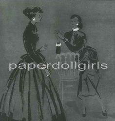 Vogue UK 1948 Magazine Advertisement Ad Marcus by paperdollgirls, $11.00