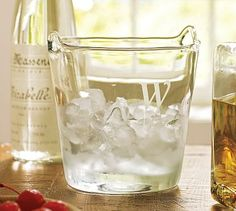 Engravable Ice Bucket from Pottery Barn