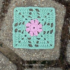 Free pattern for Granny Flower Square